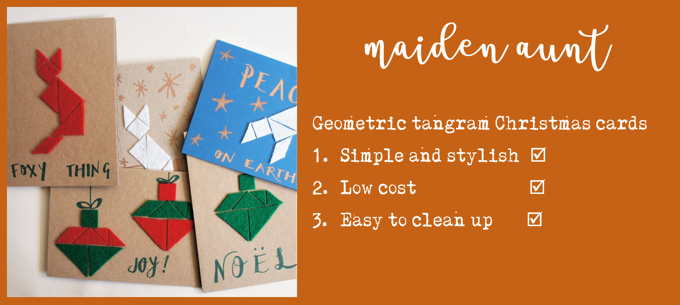 Free tutorial for your Mind crafternoon – modern geometric felt ...