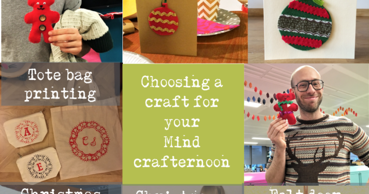 Choosing your make for your Mind Crafternoon