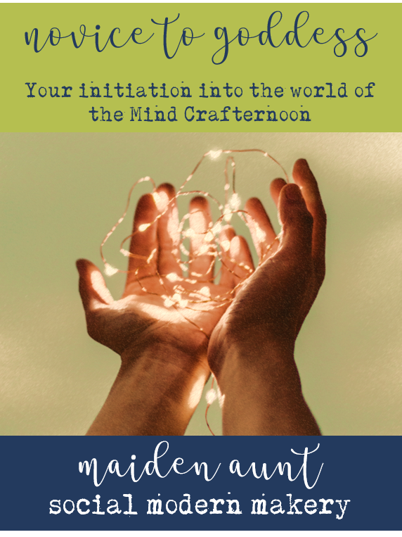 From novice to goddess – your initiation into the world of the Mind Crafternoon