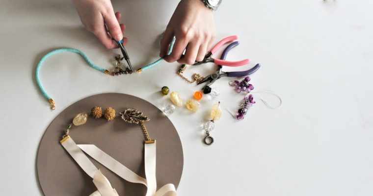 Jewellery re-making at west elm